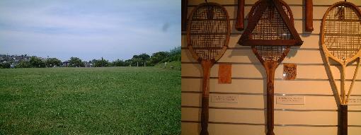 風景とラケット